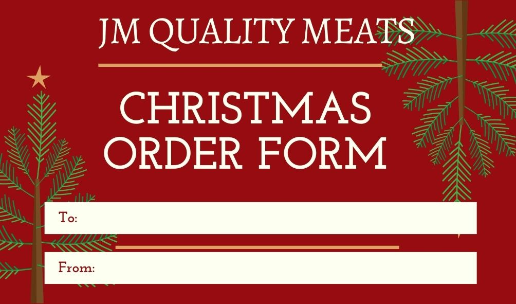 Christmas Orders COVID 2020